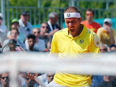 Gilles Muller freut sich auf das Duell mit Novak Djokovic.