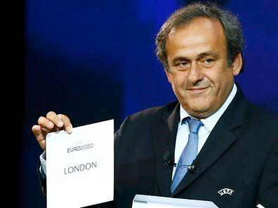Die Uefa um Präsident Michel Platini gab am Freitag bekannt, dass das Endspiel der EM 2020 in London stattfinden wird.