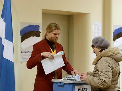Ganze 872 Kandidaten treten für die Volksvertretung Estlands an.