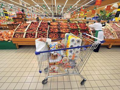 Nahrungsmittel waren im Februar teurer als im Vorjahresmonat.