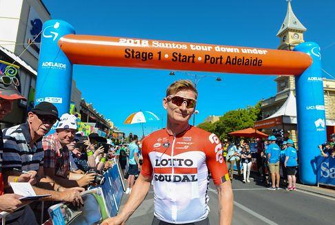 1re étape du Tour Down Under: Greipel prend les commandes, Didier et Gastauer dans le paquet