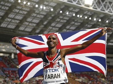 Great Britain's Mo Farah celebrates after winning the men's 5000 metres final at the 2013 IAAF World Championships. The Olympic Gold winner will not compete in the 2014 Commonwealth Games