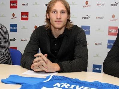 Sergei Krivets a joué trois saisons dans le championnat polonais.