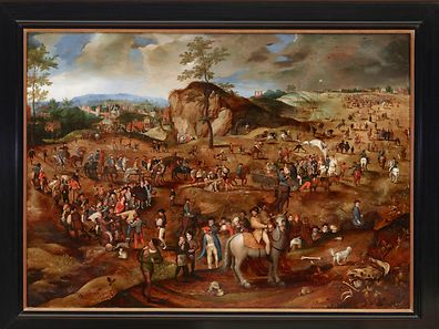 The Procession to Calvary by an unknown Flemish painter