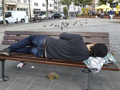 3.9. Obdachlose / Foto:Guy Jallay