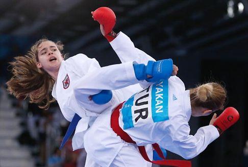 Le karaté a gagné son pari olympique : Jenny Warling peut avoir le sourire.