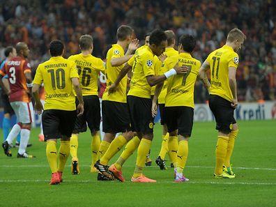 Die Dortmunder hatten allen Grund zur Freude.