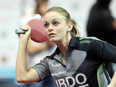 Sarah de Nutte gewann am Samstag gegen Tessy Gonderinger.