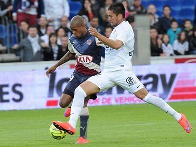 José Luis Palomino (à droite) et le FC Metz ont manqué d'efficacité.