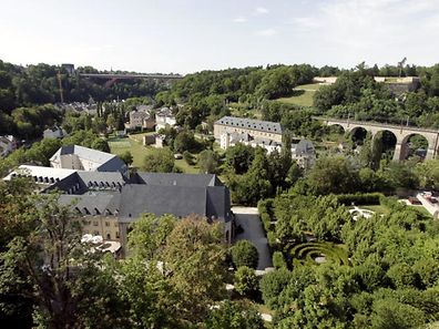 A view of the Vauban circuit in Luxembourg City
