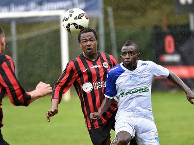 Mamadou Coulibaly n'a pas pu empêcher Elhadji Bop d'inscrire le seul but du match
