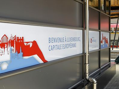 New signs have been put up around the capital, welcoming visitors to the Grand Duchy during the presidency