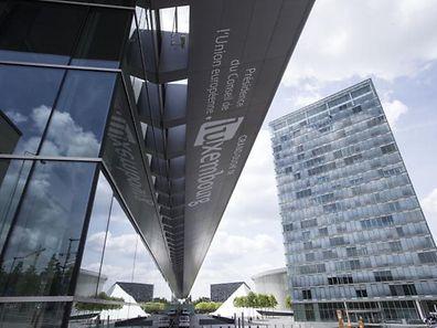 Das Konferenzzentrum auf Kirchberg ist am Freitag Schauplatz hochrangiger Treffen.