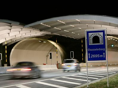 Ouverture officielle, le 24 janvier 2008, du tunnel Gousseler