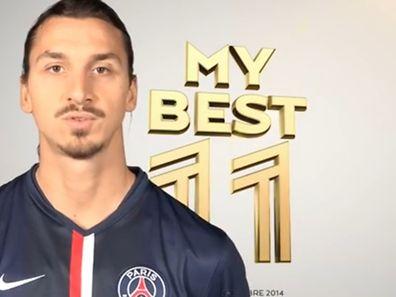 Zlatan Ibrahimovic hat seine persönliche Traumelf zusammengestellt.