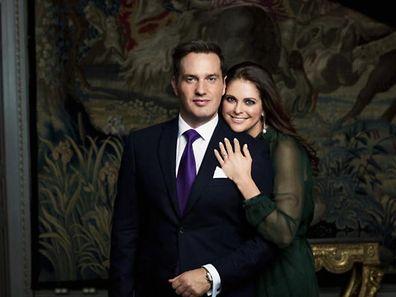 Prinzessin Madeleine (r.) und Christopher O'Neill