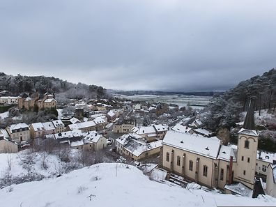 Burglinster im Schnee