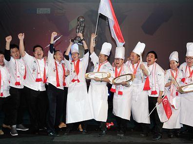 Expogast 2014 - Der Culinary World Cup 2014 geht an die Nationalmannschaft aus Singapur - Foto: Serge Waldbillig