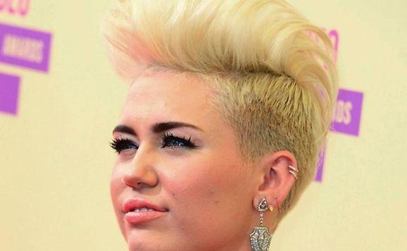 Miley Cyrus hatte ungebetenen Besuch.