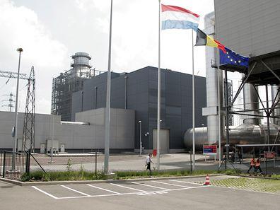 Die Gas-Dampf-Znetrale in Esch/Alzette. Bis 2015 könnte Schluß sein. (Foto: Tessy Hansen)