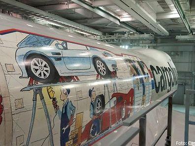 Was alles in einen 747-Frachtraum passt, hat Cargolux auf ihrem neuesten Flugzeug bildlich dargestellt.