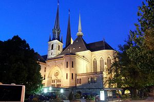 2.5. Nuits des Cathedrales  / Kathedrale /  foto: Guy Jallay