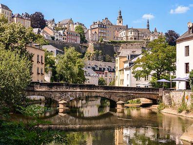Luxembourg-Grund.