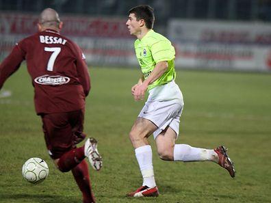 Grégory Proment n'a connu que deux clubs en France: le FC Metz et le SM Caen. C'est dire si son cœur battra fort samedi soir!