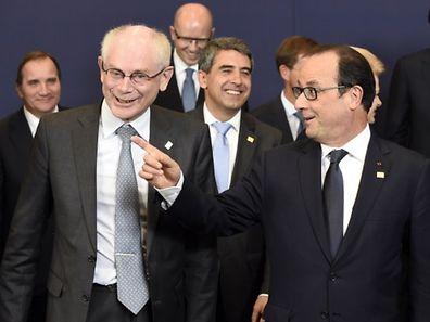 """""""C'est une bonne nouvelle pour le climat, les citoyens, la santé et les négociations internationales sur le climat à Paris en 2015"""", a dit M. Van Rompuy, assurant que cela créerait """"des emplois durables"""" et de la """"compétitivité""""."""