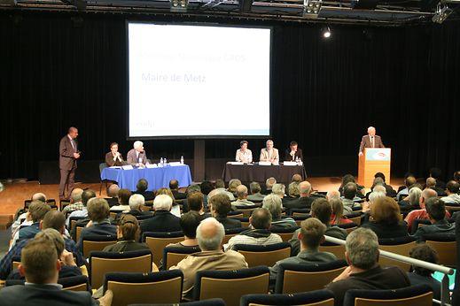 Près de 250 personnes sont venues jeudi soir à Metz-Congrès. Combien seront-elles le jeudi 21 mai au Théâtre municipal de Thionville?