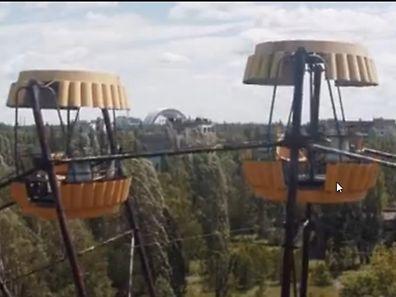 Ein rostiges Riesenrad erinnert an das Leben, das die Stadt Pripjat einst erfüllte.