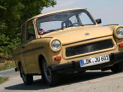 Heute ein Kultmobil: der Trabant 601, das vielen als das Auto der Deutschen Einheit gilt.