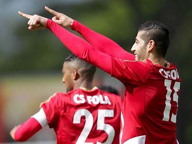 Samir Hadji (15) et Ronny Souto (25) ont marqué.