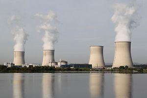 Das Atomkraftwerk in Cattenom