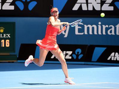 Maria Sharapova hatte gegen Ekaterina Makarova keine Probleme.