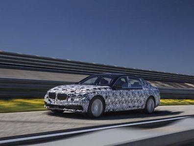 PreDrive BMW 7er Reihe getarnt