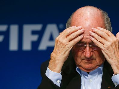 FIFA President Sepp Blatter in 2014