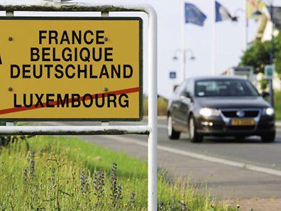Die große Mehrzahl der Grenzpendler verlässt Luxemburg nach der Arbeit wieder Richtung Belgien, Deutschland oder Frankreich.