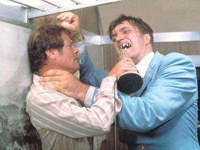 Roger Moore face à Richard Kiel dans «L'Espion qui m'aimait», 1977