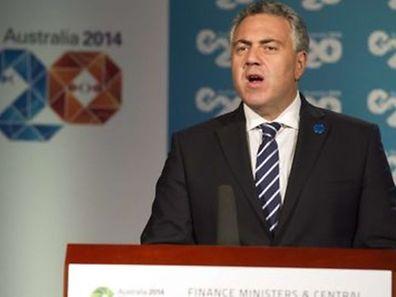 Joe Hockey, o ministro das Finanças da Austrália, país que preside este ano o G20