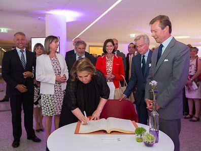 Inauguration nouvelle maternite CHL, Foto Lex Kleren