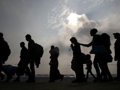 Der Protest gegen das Kommen der Flüchtlinge und Asylsuchenden wächst ständig. 50.000 sollen es in diesem Jahr werden.