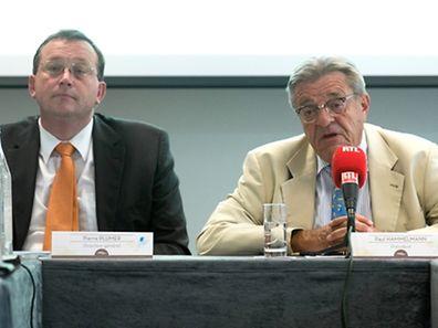 Pierre Plumer, directeur général, et Paul Hammelmann, président du Domaine thermal de Mondorf, ont présenté des chiffres négatifs mais porteurs d'espoir.