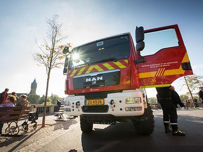 Congrès National de la Fédération Nationale des Corps de Sapeurs-Pompiers à Luxembourg-Ville - Défile et Exercice , Foto Lex Kleren