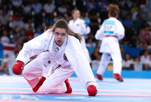 Championnats du monde de karate à Linz: Jenny Warling sortie dès le 2e tour