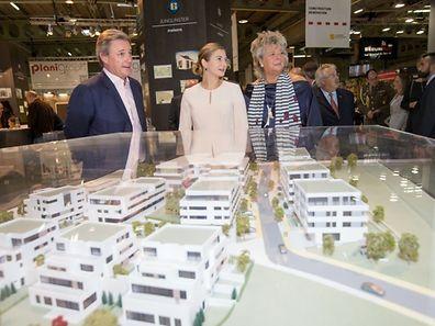 """inauguration de la deuxième édition de la nouvelle Foire d'Automne """"Home & Living Expo"""" LUXEXPO - Luxembourg - 10.10.2015 - © claude piscitelli"""