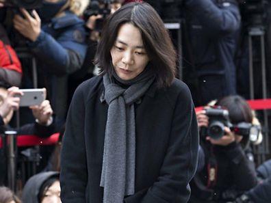 Cho Hyun Ah: die älteste Tochter des Chefs der Fluggesellschaft Korean Air.