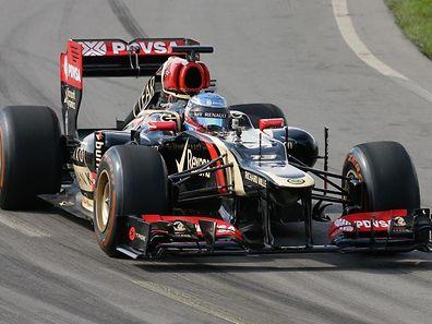 Nicolas Prost im Lotus Formel 1
