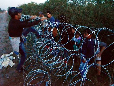 Asselborn said that the fence between Hungary and Serbia is in violation of the Geneva convention