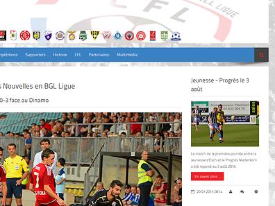 Die neue Internetseite bietet den Benutzern viele Informationen.